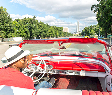 Ride in classic cars, Cuisine experience plus...