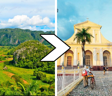 Sightseeing Transfer from Viñales to Trinidad
