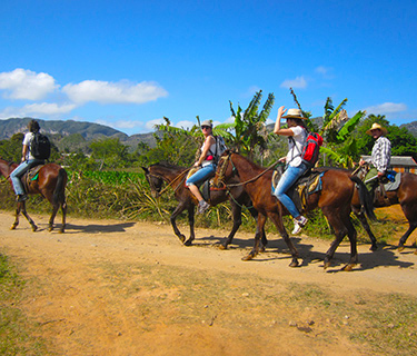 Horseback riding through the Valley of Silence